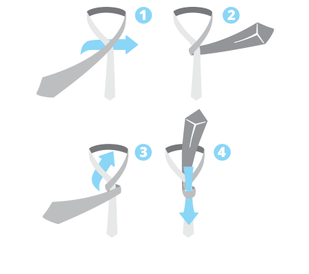 How to tie a neat tie knot it is easy to tie and goes well with a little thicker ties it is a versatile knot that fits nicely to all types of collars except for collars with extreme ccuart Image collections